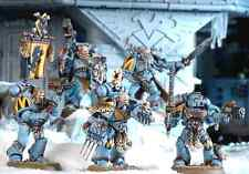 5 SPACE WOLVES WOLF PACK Games Workshop Warhammer 40K=ALL-1/2-Price-no box-FAST!