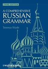 A Comprehensive Russian Grammar, Wade, Terence, Good Book