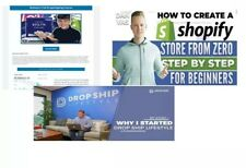 LIMITED 3 TOP Dropshiping SHOPIFY Course +BONUS Value : + $3,000- Making Money
