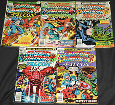 Marvel Bronze Age CAPTAIN AMERICA 21pc Count Mid Grade Comic Lot FN-VF Avengers