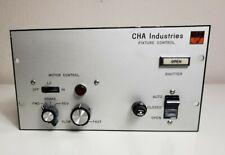 Cha Industries Fixture Control with Model Sl15 Minarik Shunt Wound Control Motor
