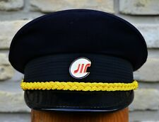 Serbia-RAILWAY CAP With BADGE-Current