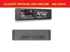 "Lilliput Dual 7"" RM-7028S 3G-SDI HDMI 3RU Rack Monitor for Live Broadcast TALLY"