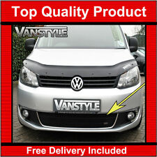 VW CADDY & MAXI 10-15 FRONT BLACK GRILLE STAINLESS MESH ZUNSPORT GRILL LOWER
