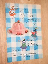 Knox Good Looking Cooking a Guide Use of Unflavored Gelatine for Students 1959