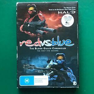 Halo Red vs Blue The Blood Gulch Chronicles Season 1-5 Plus Bonus DVD