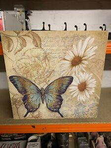 Reall Nice Butterfly And Flower Picture/print/canvas Ideal For Any Room.