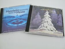 (2) Mannheim Steamroller Cds Christmas in the Aire, Disney Mouse Chip Davis