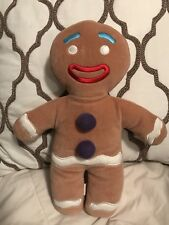 "Shrek GINGY Plush Fabric Stuffed Doll 12"" Official Merch"