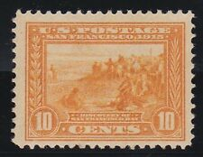 USA 1913 10c PANAMA-PACIFIC EXPOSITION ISSUE MINT HINGED GUM DISTRIBANCE
