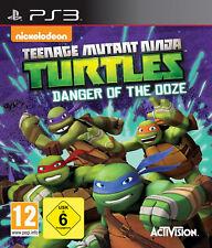 Ps3 Teenage Mutant tartarughe ninja: la minaccia del Ooze-schleims PLAYSTATION 3