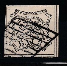 FRANCOBOLLI - 1852 STATO PONTIFICIO 8 BAJ D/5197