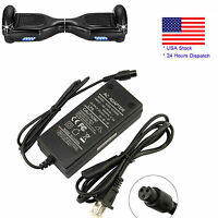 US Plug CE Approved Charger For Xiaomi/Swegway/Hoverboard Balance Board 42V 2A H