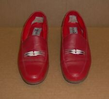 Playboy Red SHOES 8 M/D Casual Dress Hip! Made in Brazil PLUS a Free White Pair