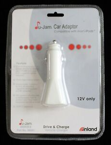 Inland U-Jam car adaptor charger; 12 volt; part #08501