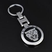 Jaguar Stainless Keyring Car Logo Key Chain Fobs