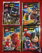Lego Batman Special - Batman, Robin, Flash and Superman Mini Foil Packs