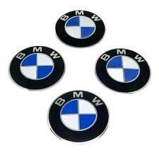 4 Coprimozzo Adesivi 65mm Per BMW Serie 1 2 3 5 6 7 M Z X Borchie Fregi Cerchi