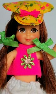 VINTAGE BARBIE FRANCIE TUTTI FRIEND BRUNETTE CHRIS #3570 N' MOD FLOWER MINI🍬