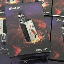100% Authentic SMOK T-Priv - Tpriv Kit 220W  w/ Big Baby Tank - silver