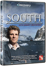 SOUTH WITH JAMES CRACKNELL - DVD - REGION 2 UK