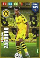 PANINI ADRENALYN XL FIFA 365 2020 DAN - AXEL ZAGADOU WONDERKID ROOKIE CARD