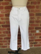 Straight Leg Machine Washable Capris, Cropped Pants for Women