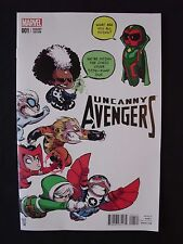 Uncanny Avengers #1 - Skottie Young Variant Cover Vf+ / Nm