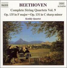 Beethoven: Complete String Quartets, Vol. 9, New Music