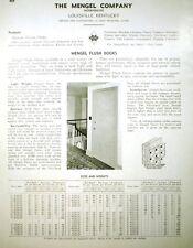 Mengel Co J-M ASBESTOS Flexboard Doors Catalog Ad 1944