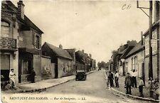CPA St-Just-des-Marais, Rue de Savignies (424240)