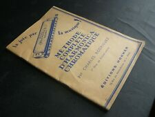 Charles Rodriguez: Méthode complète d'harmonica chromatique (Ed Hohner)