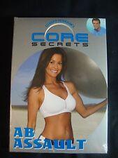 Gunnar Peterson's AB ASSAULT Core Secrets Exercise DVD BRAND NEW Brooke Burke