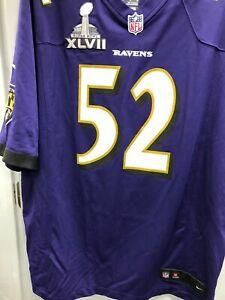 Baltimore Ravens Ray Lewis Superbowl 47 Jersey
