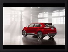 """FORD EDGE CONCEPT SIDE VIEW A3 FRAMED PHOTOGRAPHIC PRINT 15.7"""" x 11.8"""""""