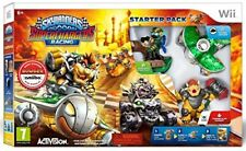 SKYLANDERS WII SUPERCHARGERS RACING STARTER PACK NUOVO CONFEZIONATO
