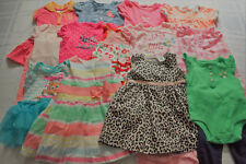 USED 20 PC. LOT OF NEWBORN BABY GIRL CLOTHES 0-3 MONTHS EUC/VGUC