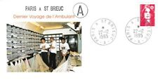 PARIS - St BRIEUC - Circulation du dernier ambulant le 22 déc 95 (Chemin de fer)