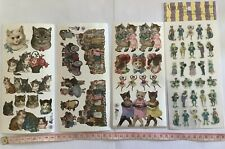 Variety Of Stickers Cats, Dogs, Circus, Clown, Bears, Animals etc