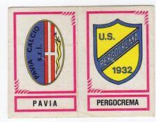 figurina CALCIATORI PANINI 1982/83 NEW numero 580 PAVIA PERGOCREMA