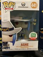 FUNKO POP ASHE OVERWATCH WINTER SKIN CYBER MONDAY LIMITED SHOP EXCLUSIVE