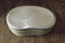 "GERMAN WWII WEHRMACHT BREAD TIN ""BROTDOSE"" FOOD CONTAINER (d2)"
