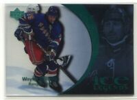 1997-98 Upper Deck Ice Parallel 90 Wayne Gretzky Legends