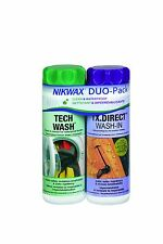 Nikwax Hardshell Care Kit Tech Wash / TXD Direct Wash 20 oz. / ... Free Shipping