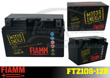FTZ10S-12B BATTERIA MOTO FIAMM AGM TECHNOLOGY 8,6Ah 120A