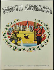 Stanley Gibbons 1960's North America No.3 Print #V11353