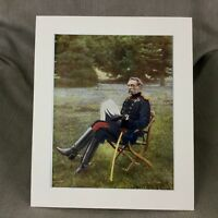 1900 Antique Military Portrait Print British Army Francis Clery Anglo Zulu War