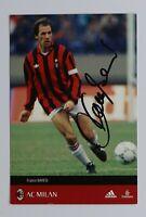 Franco Baresi Signed 6x4 Photo Card Genuine Autograph AC Milan Memorabilia + COA