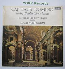 ZRG 666 - SCHUTZ - Cantate Domino NORRINGTON Heinrich Schutz Ch - Ex LP Record
