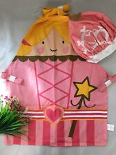 NEW Childrens Kids Pink Kitchen Princess Cooking Festive Fairy Apron & Hat Set